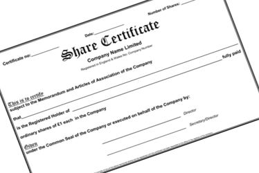 What is a Share Certificate?