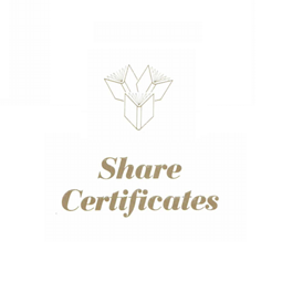 Share Certificate Book